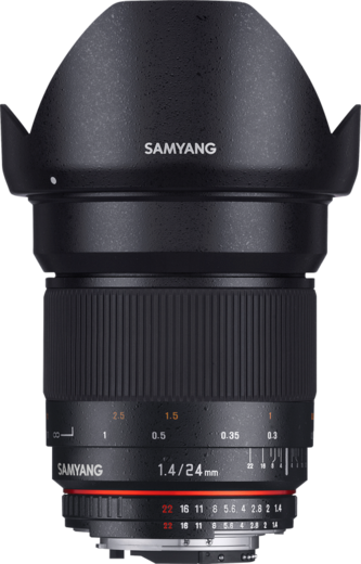 SAMYANG  24mm f/1.4 ED AS IF UMC Sony E