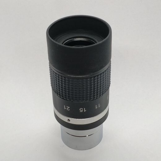 7-21mm Zoom -okulaari 1,25""