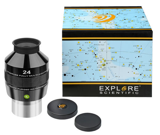 "EXPLORE SCIENTIFIC 82° Ar okulaari 24mm (2"")"